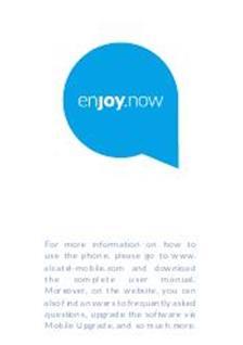 Alcatel 3025X Printed Manual