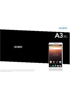 Alcatel A3 XL Printed Manual