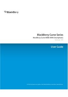 Blackberry Curve 8900 manual