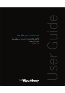 Blackberry Curve 9360 manual