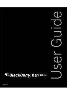 Blackberry KEYone manual