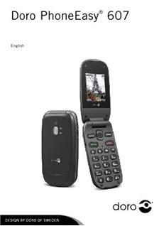 Doro PhoneEasy 607 manual