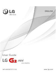LG G2 Mini manual