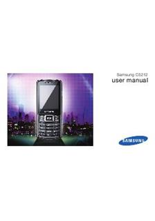 Samsung C 5212 manual