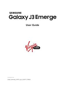 Samsung Galaxy J3 Emerge manual