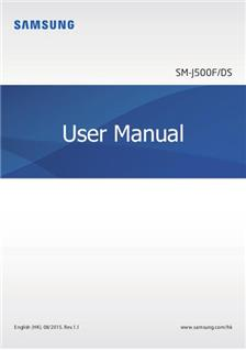 Samsung Galaxy J5 (2015) manual