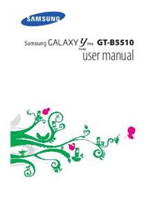 Samsung Galaxy Y Pro Duos manual