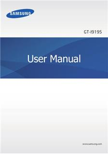 Samsung Galaxy S4 Mini manual