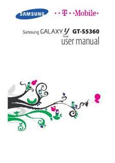 Samsung Galaxy Y Young manual